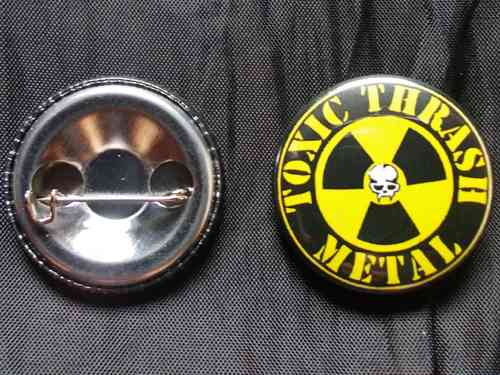 Toxic Holocaust - Button