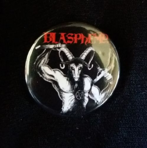 Blasphemy - Button