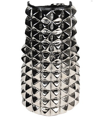 11-row Studded-Leather Gauntlet