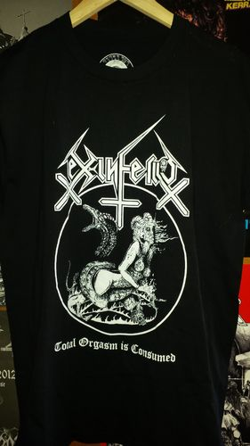 Ex-Inferiis - T-shirt (Total Orgasm is consumed)