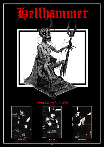 Hellhammer - A2 Tribute Poster
