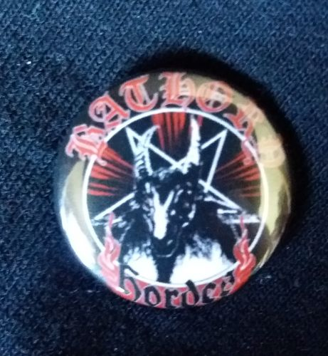 Bathory - Hordes Button