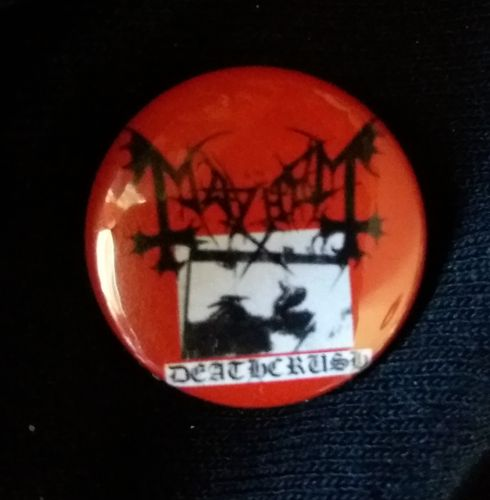 Mayhem - Deathcrush Button