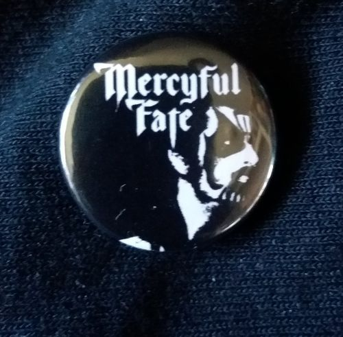 Mercyful Fate - King Diamond Button