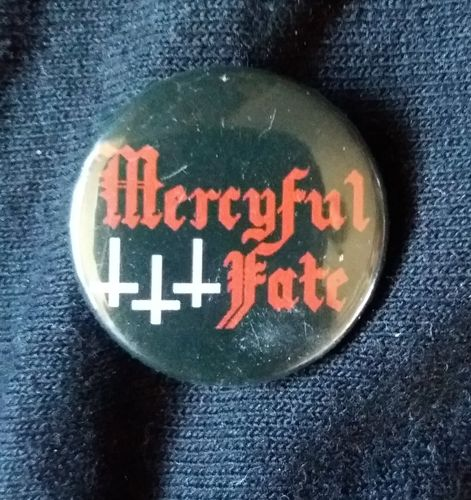 Mercyful Fate - Logo Button