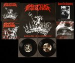 "Sadistik Exekution/D.a.D. - Sadistikly Disgusting / The Devil Down Under 7"" Split EP + Poster"