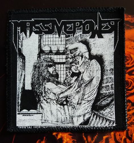 Massive Power - Patch (printed)