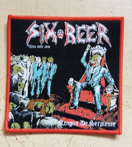 Six Beer - Patch