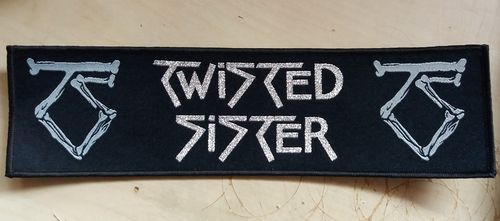 Twisted Sister - Megastripe Patch