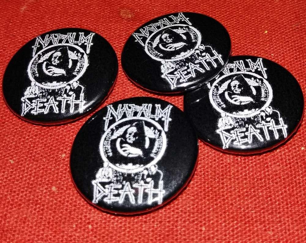 e4aa1e01181 Napalm Death - Button