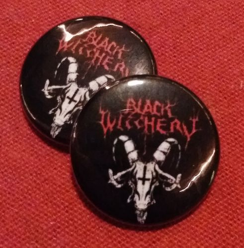 Black Witchery - Button