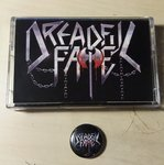 Dreadful Fate - The Sin of Sodom Tape + Button
