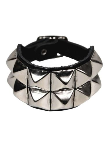 2-Row Studded Leather Gauntlet