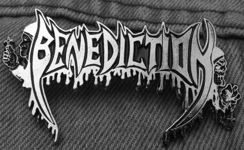 Benediction - Logo Metal Pin