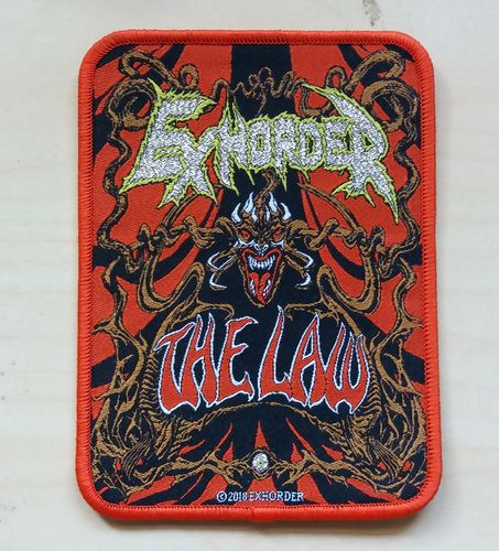 Exhorder - The Law Patch