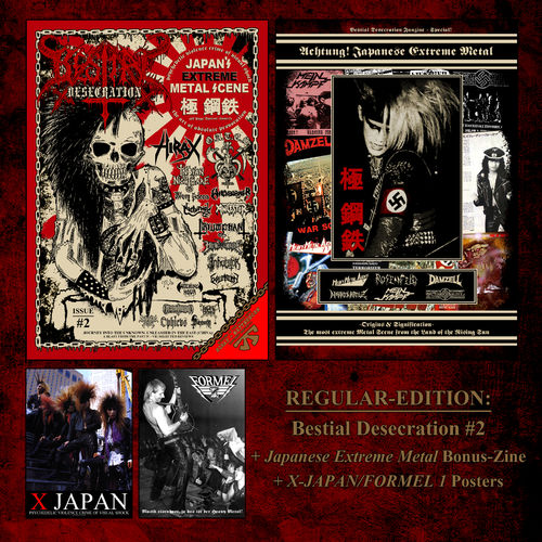 5x Bestial Desecration Fanzine - #2 (Wholesale)
