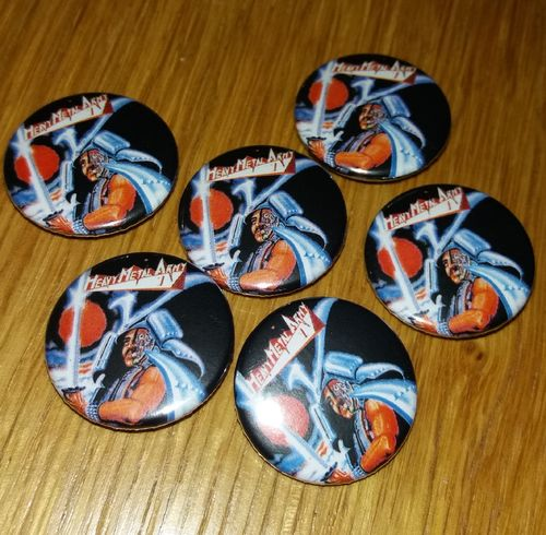Heavy Metal Army - Button