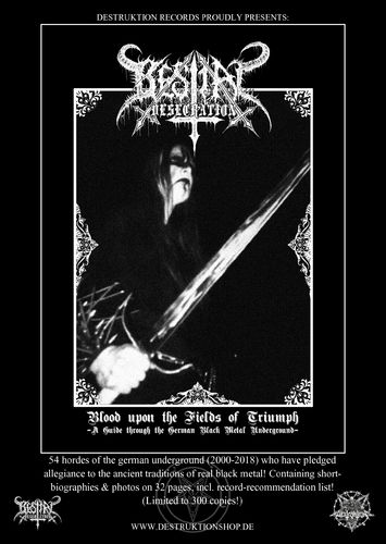 "Bestial Desecration Fanzine - ""German Black Metal"" Guide"