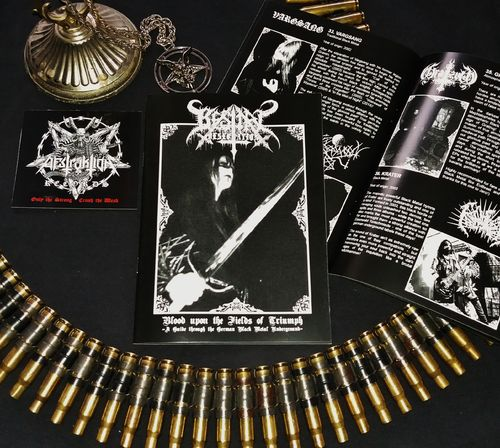 "Bestial Desecration Fanzine - ""German Black Metal"" Guide (5x) *Wholesale*"