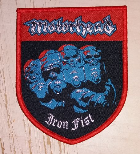 M. - Iron Fist Shield Patch