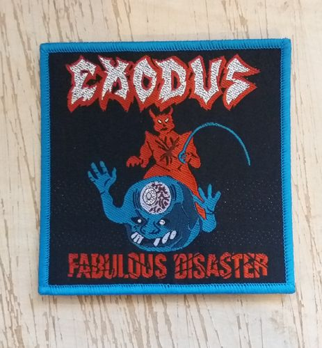 E. - Fabulous Disaster Patch