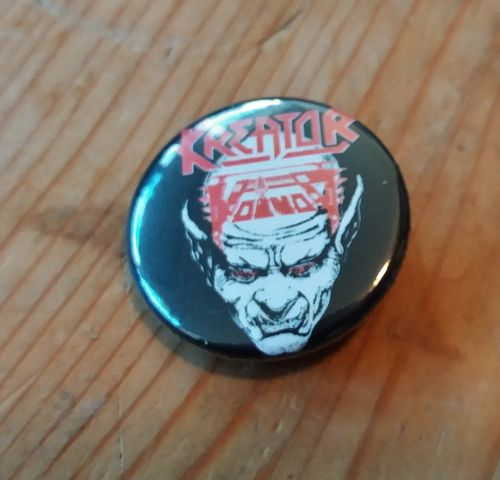 Kreator/Voivod - Button