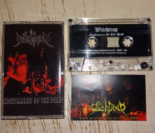 Witchtrap - Nightmares of the Dead Tape