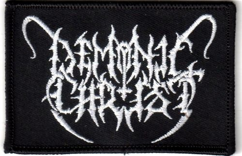 Demonic Christ - Patch (embroided)