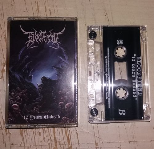 Bloodfiend - 10 Years Undead Tape