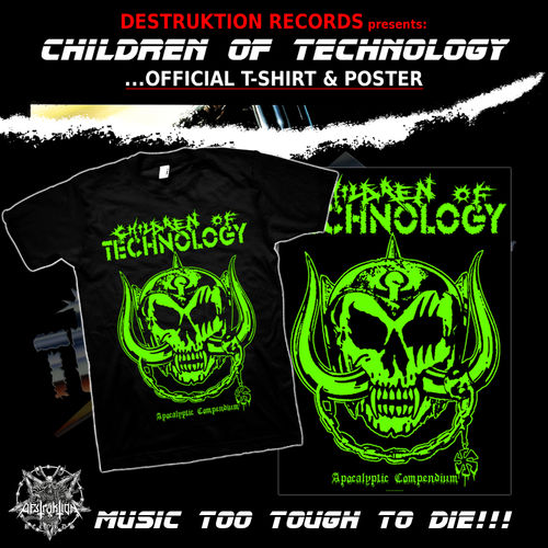 Children of Technology - T-Shirt + Poster