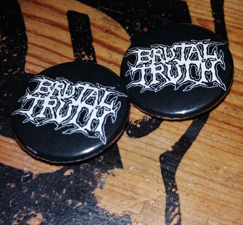 Brutal Truth - Button