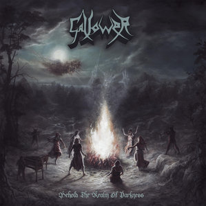 Gallower - Behold the Realm of Darkness CD + Button